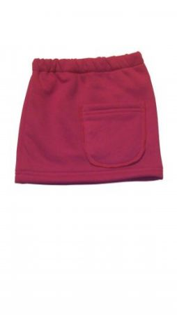 Dětská rovná sukně s kapsou EVA