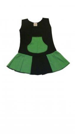Dětské šaty - šatovka s kapsou JANA