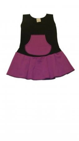 Dětské šaty - šatovka s kapsou ZDENKA