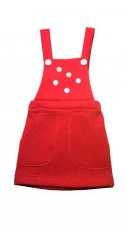 Dětská sukně s laclem JITKA